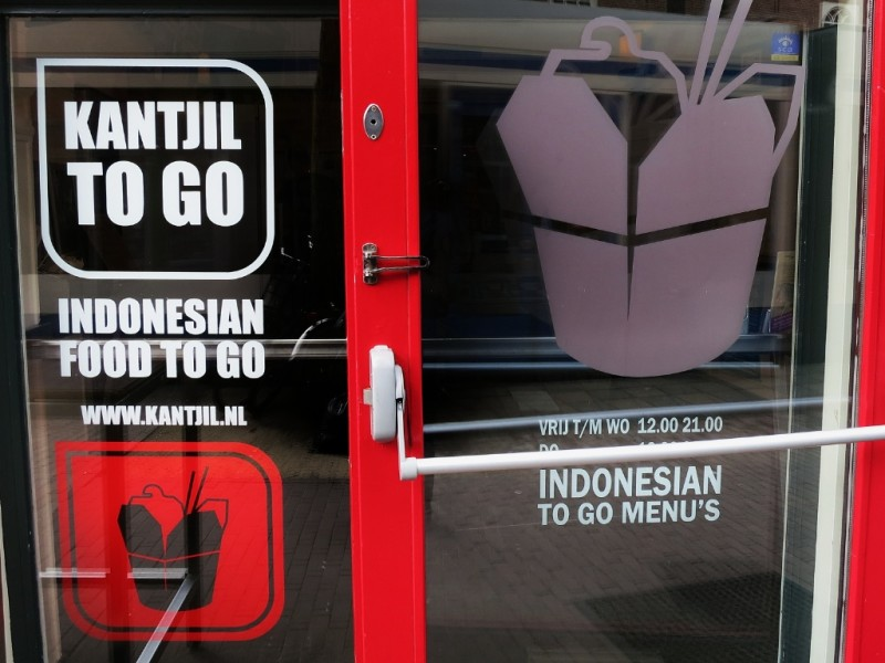 Kantjil To Go Take Away Amsterdam