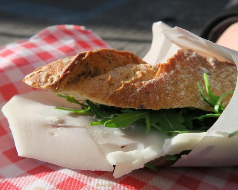 Sandwich at Cora Delicatessen Amsterdam