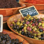 Olives and Tapenades Provencal Market Cassis France