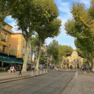 Cours Mirabeau Aix en Provence