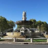 Fontaine de la Rotonde Aix-en-Provence France
