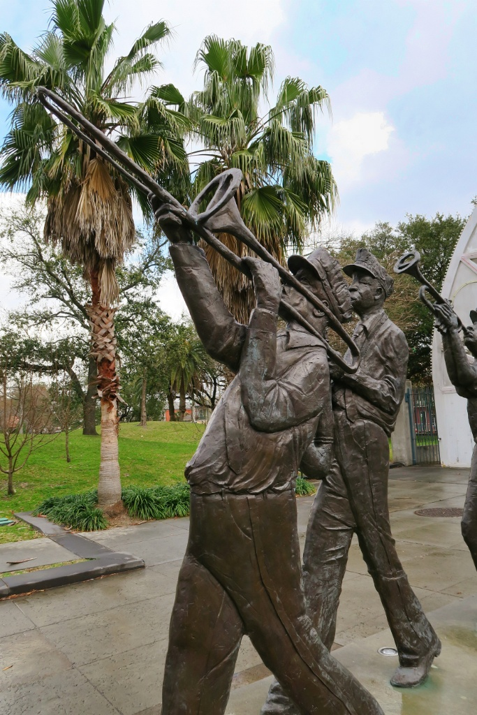 Brass Band Statues by Sheleen Jones Adenle Louis Armstrong Park New Orleans