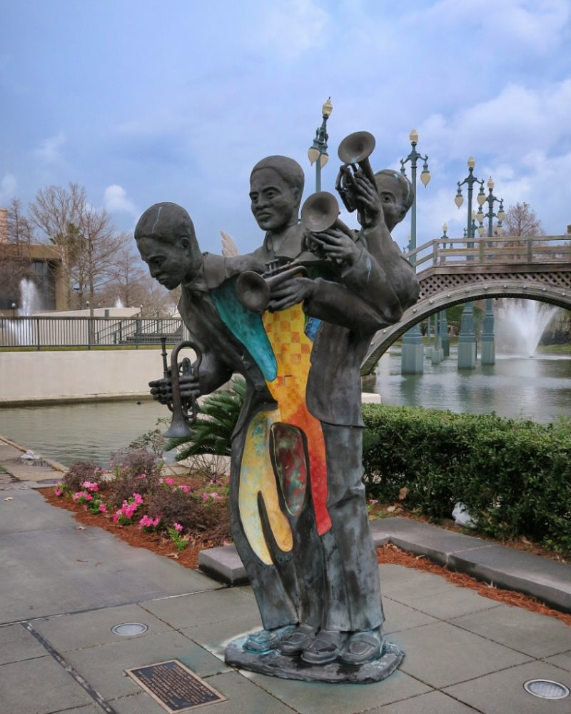 Charles Buddy Bolden Statue by Kimberly Dummons Louis Armstrong Park New Orleans