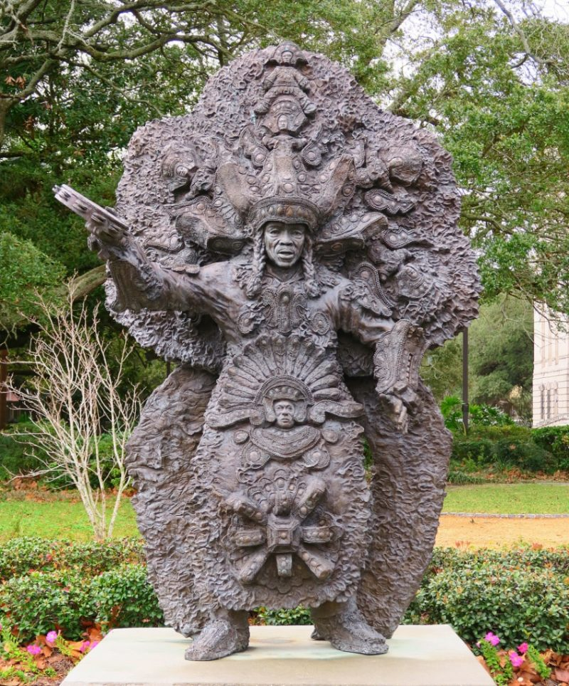 Chief Tootie by Sheleen Jones Adenle Louis Armstrong Park New Orleans