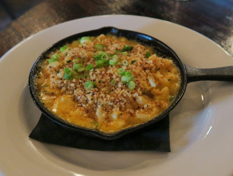 Crawfish Mac and Cheese Basin Seafood Magazine Street New Orleans