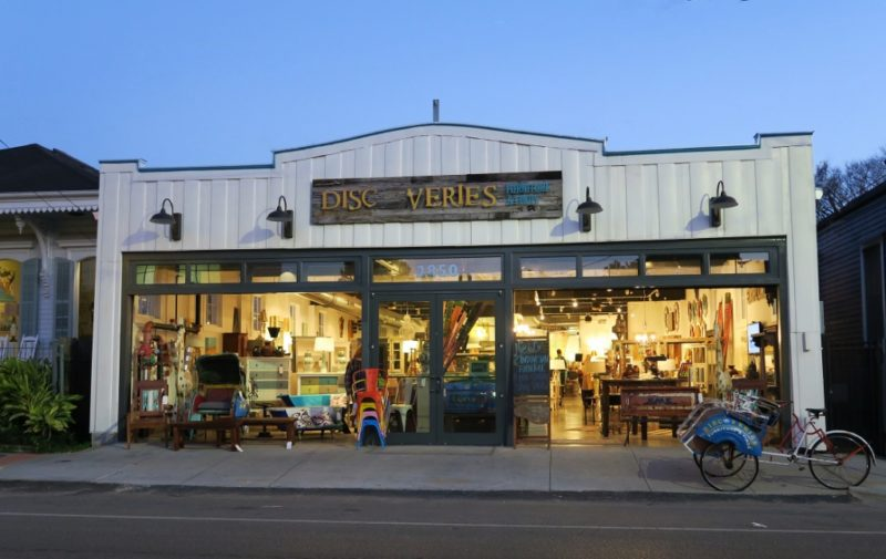 ... Discoveries Furniture And Finds Exterior Magazine Street New Orleans ...