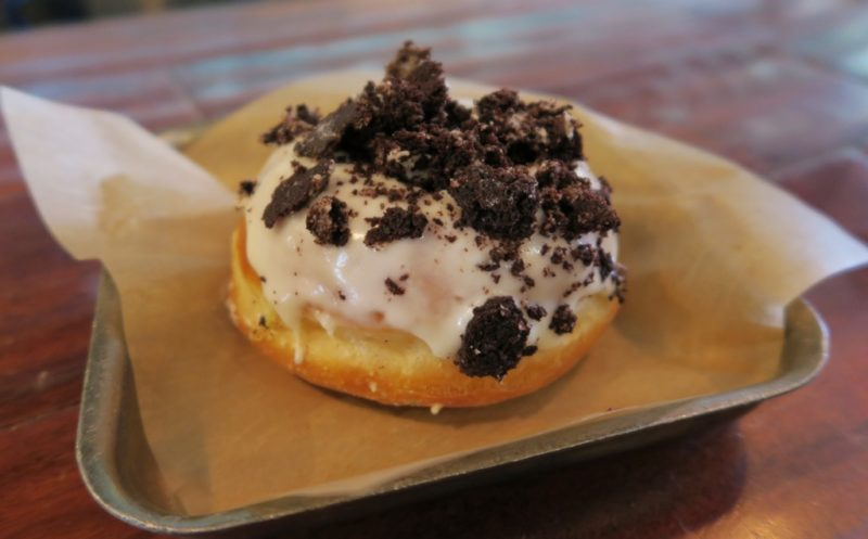 District Donuts Sliders Brew Oreo Donut Magazine Street New Orleans