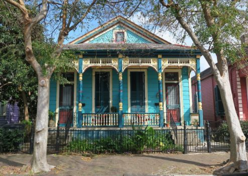 Double Shotgun Faubourg Marigny New Orleans