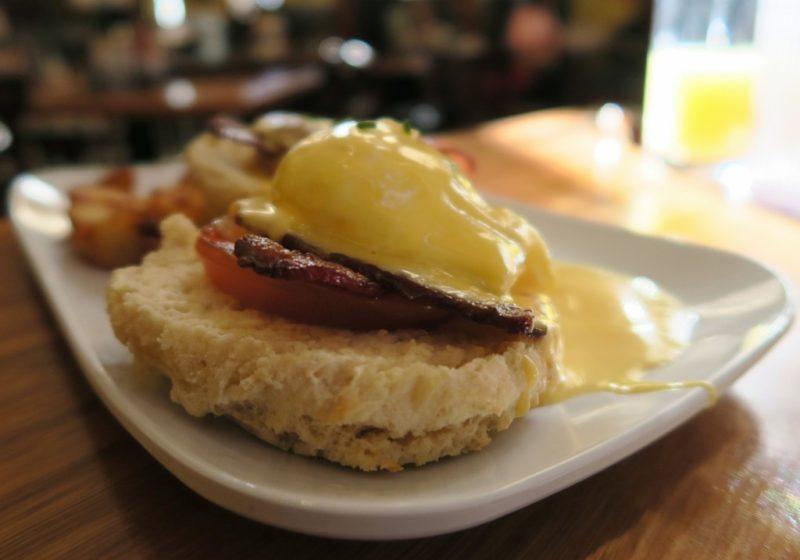 Eggs Blackstone Ruby Slipper Cafe Marigny New Orleans