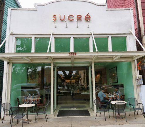 Exterior Sucre Magazine Street New Orleans