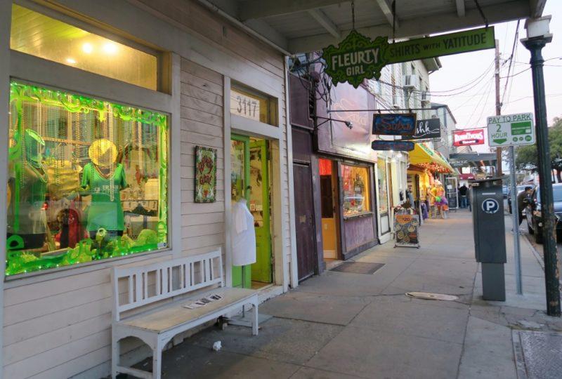 Fluerty Girl Store Exterior Magazine Street New Orleans