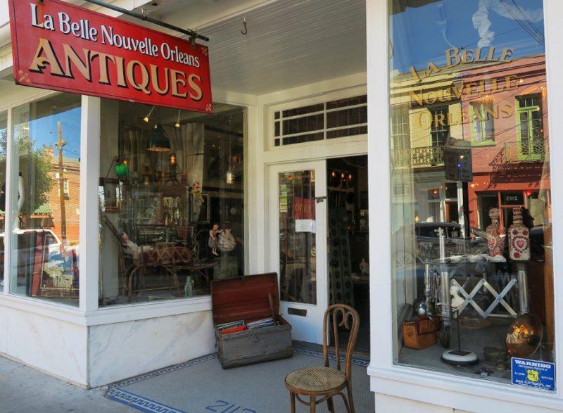 La Belle Nouvelle Orleans Antiques Sign Magazine Street New Orleans