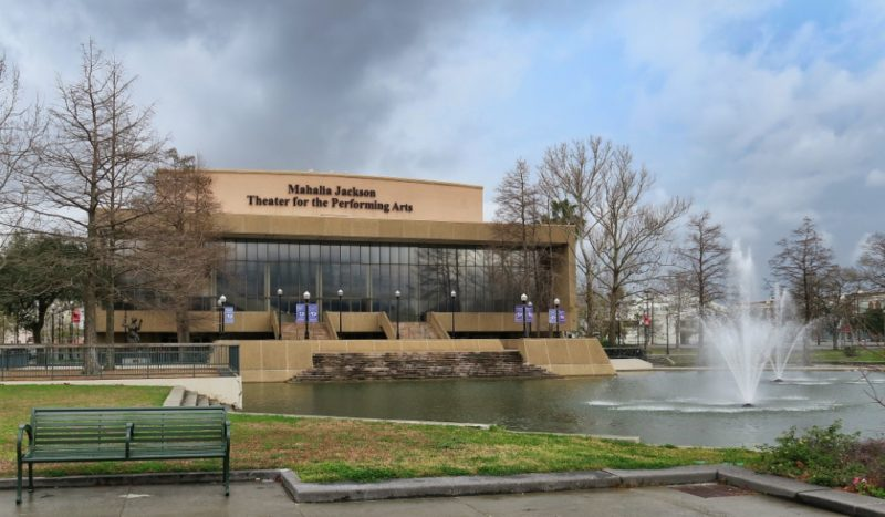 Mahalia Jackson Theater for the Performing Arts Louis Armstrong Park New Orleans