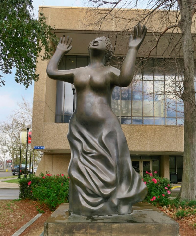 Mahalia Jackson by Elizabeth Catlett Louis Armstrong Park New Orleans
