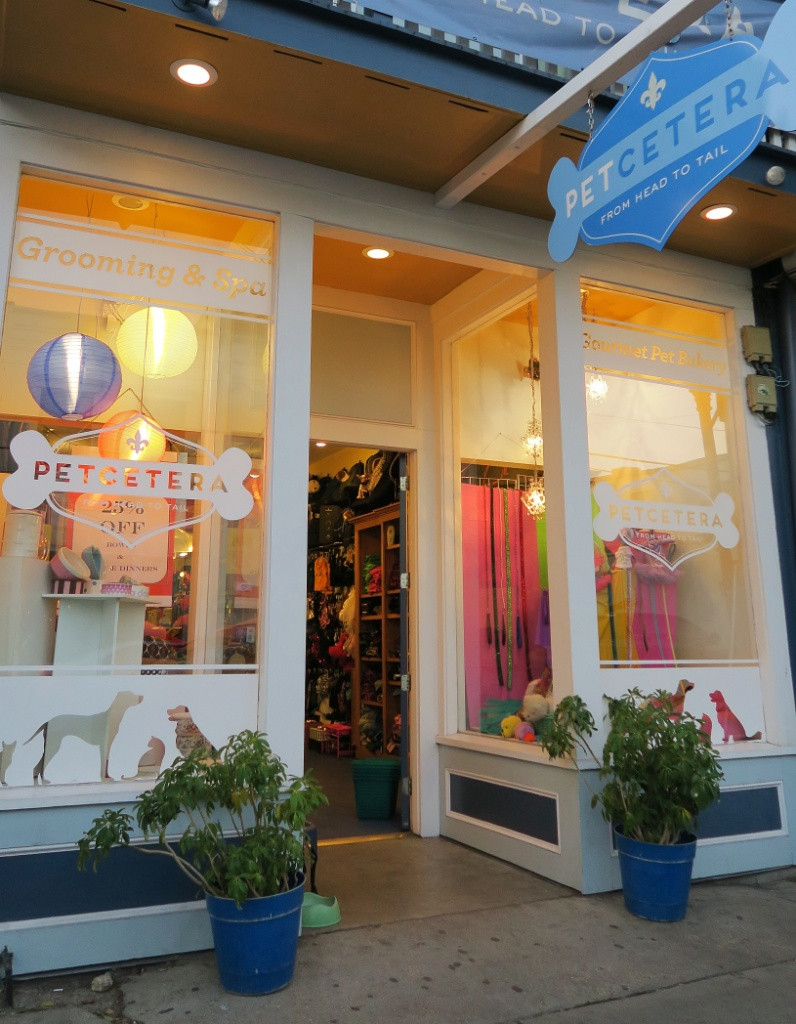 Petcetera Entrance Magazine Street New Orleans