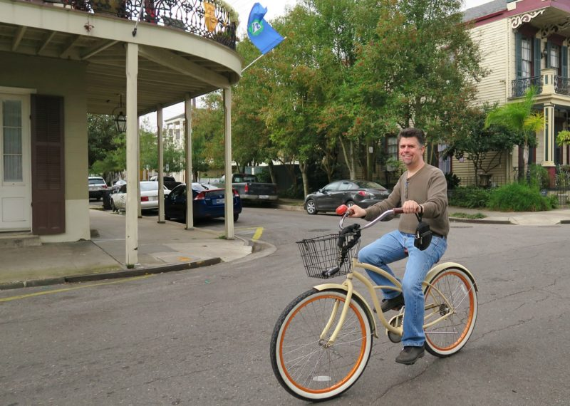 Tour the Crescent City on a Bike
