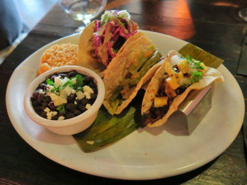 Triple Taco Platter Arana Taqueria y Cantina Magazine Street New Orleans