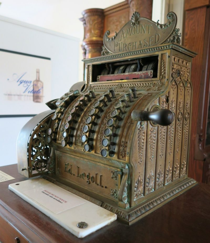 Antique Cash Register Pharmacy Museum New Orleans