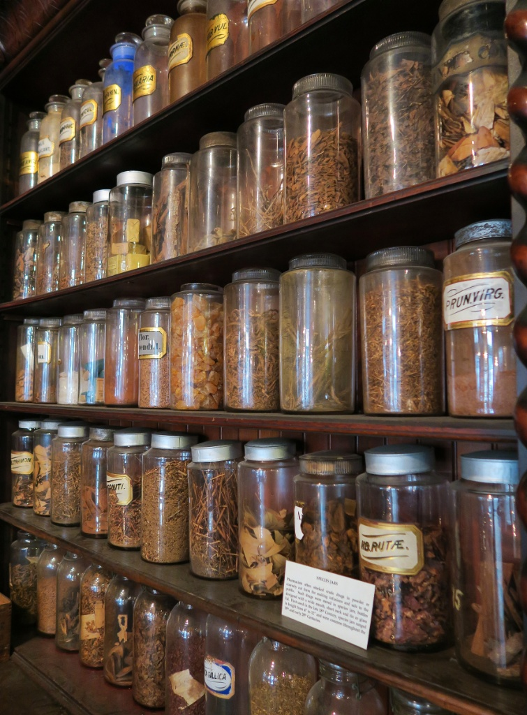 Herbals and Botanicals Pharmacy Museum New Orleans
