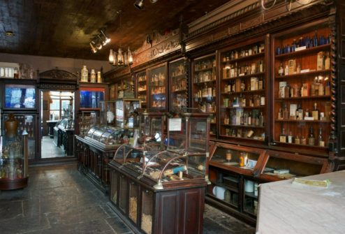 Interior Pharmacy Museum New Orleans