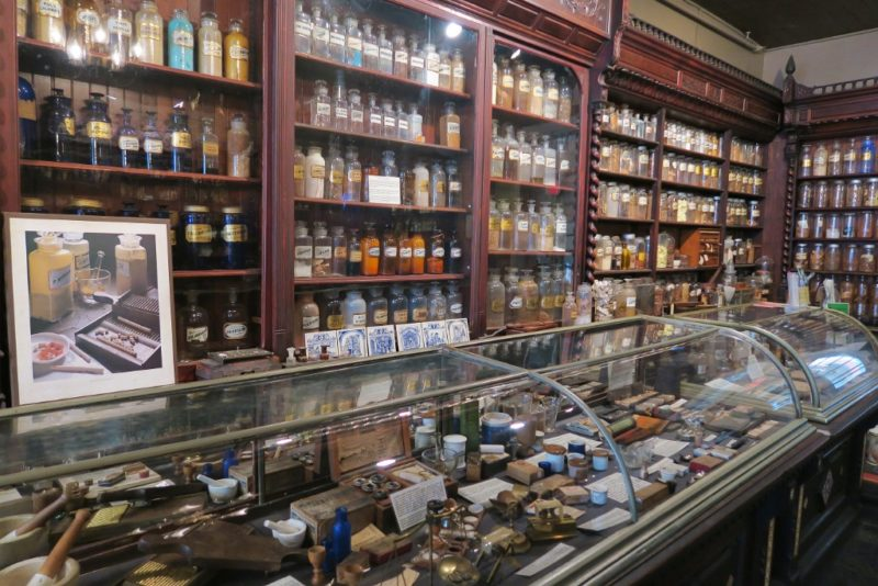 Interior of Pharmacy Museum New Orleans