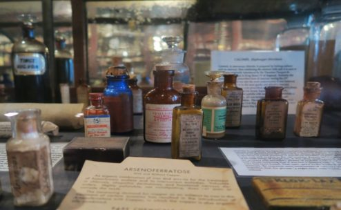 Medicinal Bottles Pharmacy Museum New Orleans