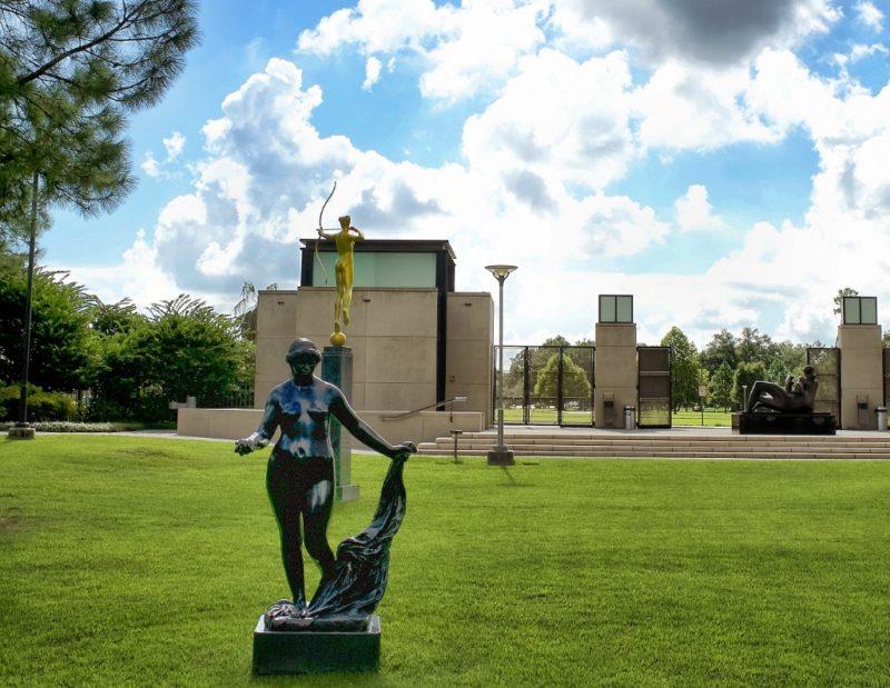 ... Venus Victories by Renoir NOMA sculpture garden New Orleans ...