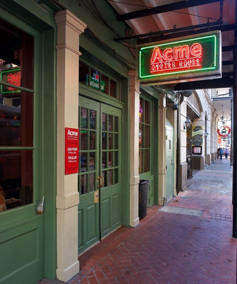 Acme New Orleans Restaurant