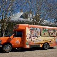 Cajun Food Tours Bus Lafayette