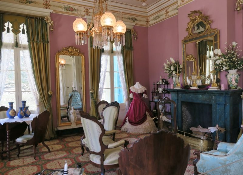 Amazing ... Ladies Parlor San Francisco Plantation House Louisiana ...