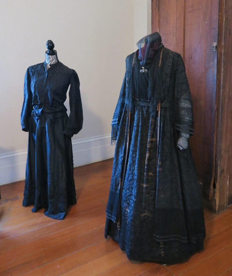 Mourning Dresses St Joseph Plantation