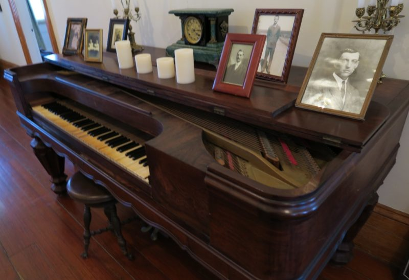 Square Baby Grand Piano St Joseph Plantation