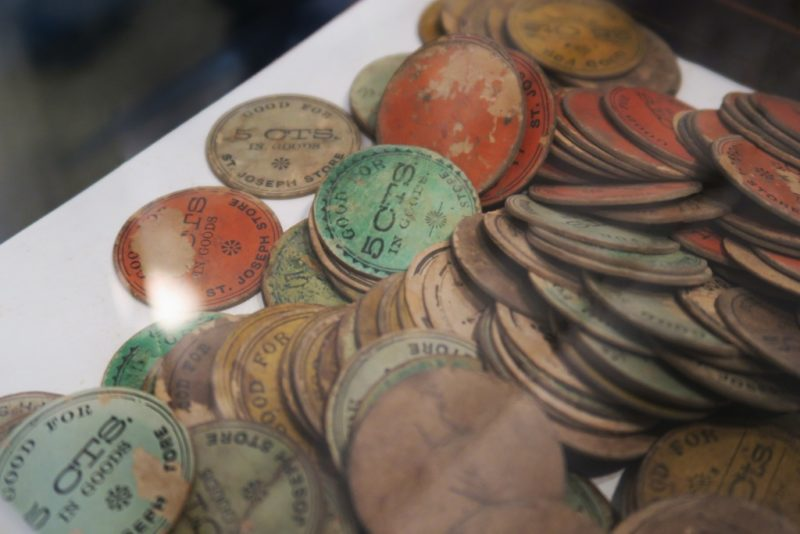 Token Coins St Joseph Plantation