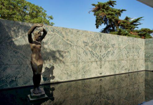 Statue by George Kolbe Mies Van Der Rohe Pavilion Barcelona