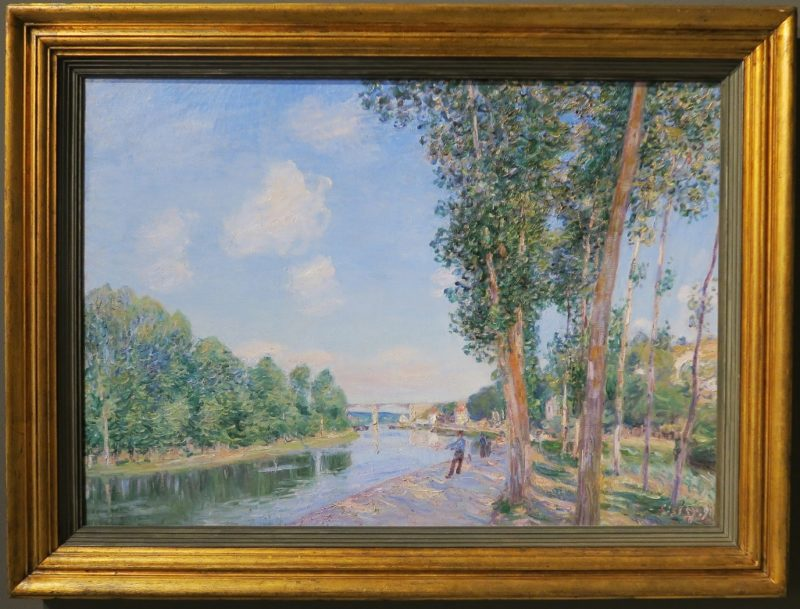 A Bend in the Loring by Sisley MNAC Barcelona