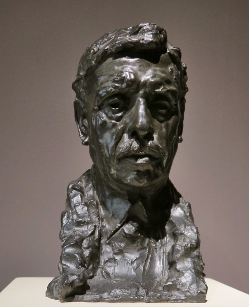 Alexandre Falguiere by Rodin MNAC Barcelona