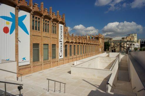 Caixa Forum Montjuic Barcelona Spain