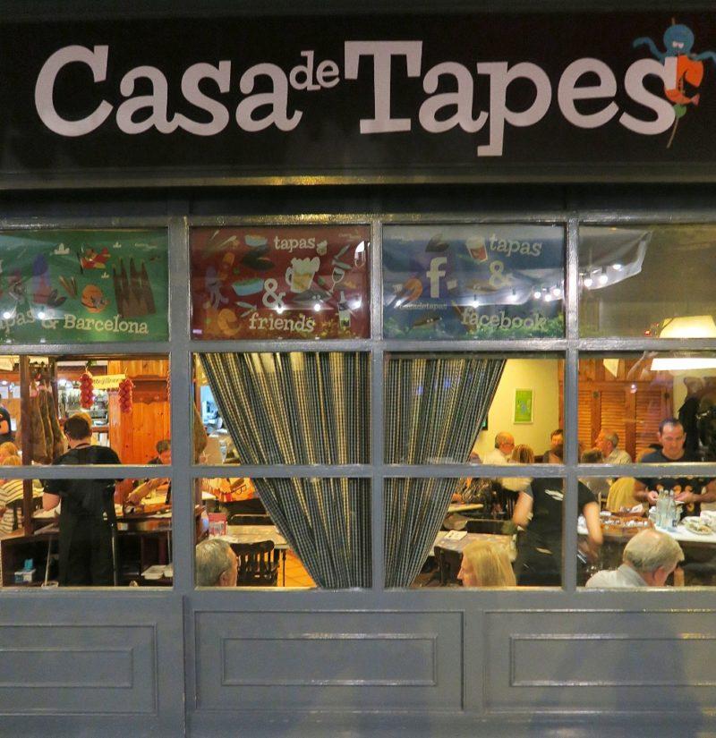 Casa de Tapes Sign Barcelona