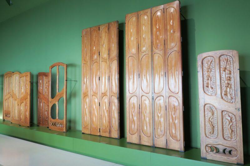 Doors by Gaudi MNAC Barcelona