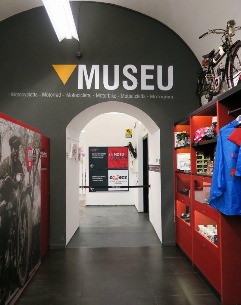 Entrance Museu Moto Barcelona