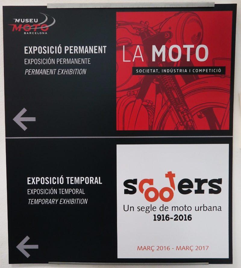 Exhibition Signs Museu Moto Barcelona