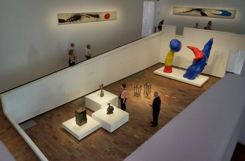 Gallery Fundacio Joan Miro Barcelona