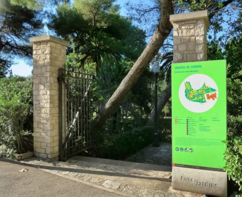 Jardins de Laribal Montjuic Barcelona Spain