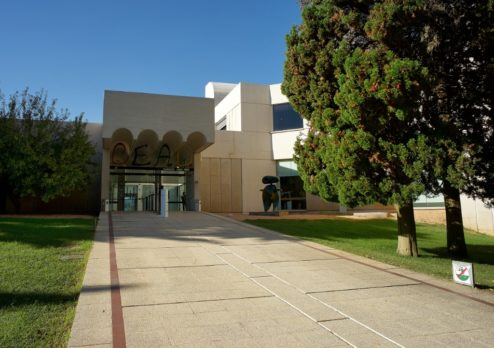 Joan Miro Foundation Montjuic Barcelona Spain