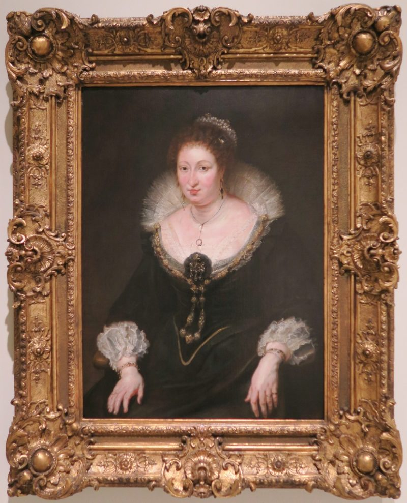 Lady Talbot Countess of Arundel by Rubens MNAC Barcelona