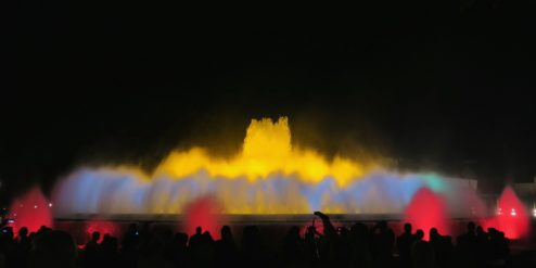 Magic Fountain scene 1 Barcelona