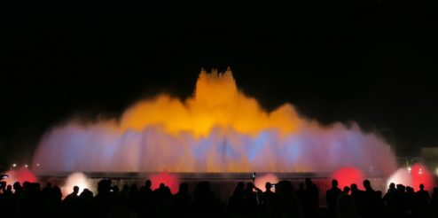 Magic Fountain scene 2 Barcelona