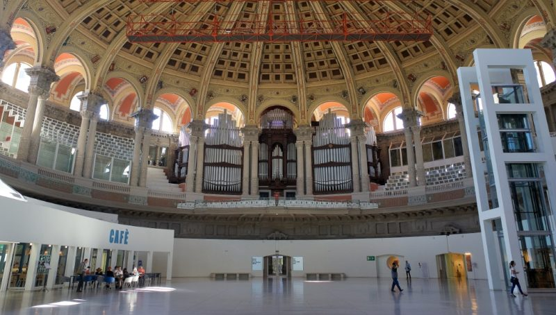 Main Hall and Pipe Organ MNAC Barcelona