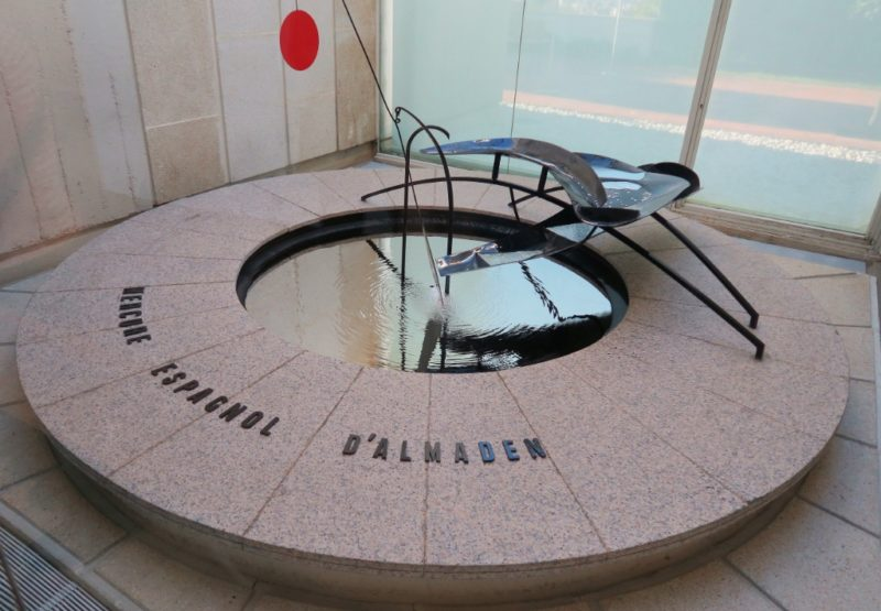 Mercury Fountain by Alexander Calder Fundacio Joan Miro Barcelona