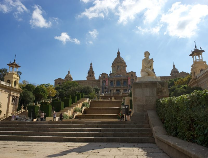 National Palace MNAC Montjuic Barcelona Spain